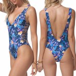 Rip Curl Tropic Tribe One Piece Womens-Navy-M
