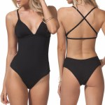Rip Curl Classic Surf Crossback One Piece Womens-Black-S