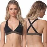 Rip Curl Mirage Ultimate Halter Bikini Top Womens-Black-M
