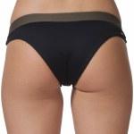 Rip Curl Mirage Ultimate Cheeky Bikini Bottom Womens-Black-M