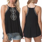 Rip Curl Serena Tank Top Womens-Black-XS