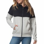 Rip Curl Anti Series Viral Zip Fleece Womens-Light Grey Heather-S