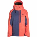 Rip Curl Pro Gum Jacket Womens-Hot Coral-S