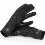 Rip Curl Flashbomb 3/2 Finger Glove-Black-M