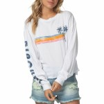 Rip Curl Horizon Cutoff Long Sleeve-White-L