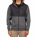 Rip Curl Mens Interblock Anti Series Z T H Zip Hoodie-Black-S