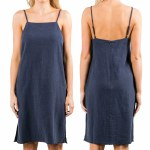 Rusty Heartbreaker Dress Womens-German Blue-XS