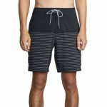 RVCA Mens Curren Trunk Boardshort-Black-30