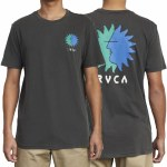 RVCA Mens Sunny Short Sleeve T-Shirt-Pirate Black-S