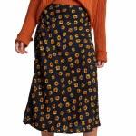 RVCA Womens Annika Skirt-Black-S