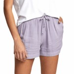 RVCA Womens New Yume Short-Crystal Lilac-S
