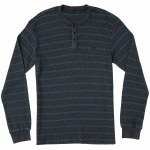 RVCA Harpoon Long Sleeve Thermal-Seattle Blue-M