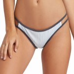 RVCA Linear Medium Bikini Bottom-Ice-S