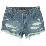 RVCA The BF Short-Medium Blue-26