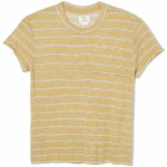 RVCA Recess Short Sleeve T Shirt-Camel-S