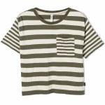 RVCA Raincheck Short Sleeve T Shirt-Army Fade-S