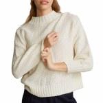RVCA Womens Volt Sweater-Oatmeal-S