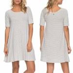 Roxy Smitten Kitten Dress Womens-Heritage Heather La Petite Stripe-S