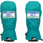 Salmon Arms Mens Classic Mitts-Licence Plate-M