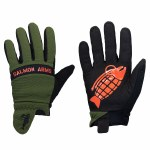 Salmon Arms Mens Spring Mitt-Olive/Black/Red-S