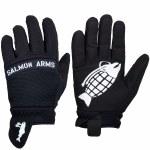 Salmon Arms Mens Spring Mitt-Black-M
