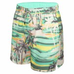 Saxx Mens Oh Buoy 2in1 Volley-Green No Bad Days-S