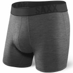 Saxx Blacksheep Boxer Brief Fly-Coal Heather-M
