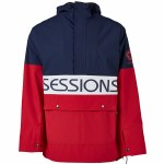 Sessions Mens Chaos Pullover Jacket-Marriner-S