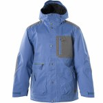 Session Tahve Snowboard Jacket-Light Blue-L