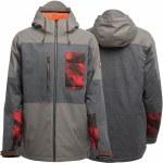 Sessions Radio Snowboard Jacket-Black-L
