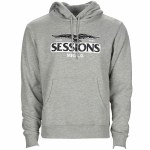 Sessions Eagle Pullover Hoody-Athletic Heather Grey-XXL