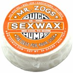 Sex Wax Quickhumps Surf Wax-Orange-Mid Cool To Warm-18 to 26 Degrees