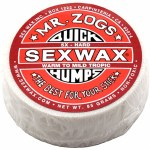 Sex Wax Quickhumps Surf Wax-Red-Warm To Mid Tropic-21 to 29 Degrees
