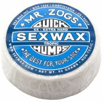 Sex Wax Quickhumps Surf Wax-Blue-Tropic-26 Degrees and Above
