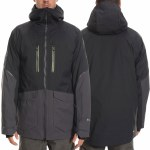 686 Mens Stretch Gore Tex Smarty 3 In 1 Jacket-Black Colorblock-M