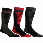 686 Mens Strike 3 Pack Sock-Assorted-OS