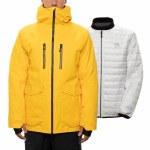 686 Mens GORE-TEX Weapon 3-in-1 Smarty Jacket-Sub Yellow-L