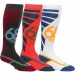 686 Mens Strike Sock 3-Pack Sock-Assorted-S/M