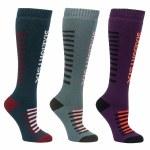 686 Womens Heater Sock 3-Pack Sock-Assorted-S/M