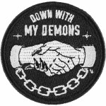 Sketchy Tank Demons Patch-Black-OS