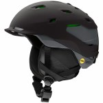 Smith Mens Quantum MIPS Helmet-Matte Black/Charcoal-L