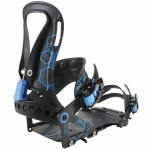 Spark R&D Mens Surge Splitboard Bindings-Blue-L