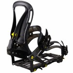 Spark R&D Mens Arc Pro Splitboard Bindings-Black-M