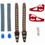 Spark R&D Tail Clips-Red-OS