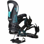 Spark Arc Tesla T1 Splitboard Binding Womens-Black/Teal-XS/S