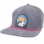 Spacecraft Explorer Cord Hat-Gray-OS