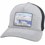 Spacecraft Habitat Trucker Hat-Heathered Gray-OS