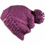 Juniper Pom Beanie Womens-Purple-OS