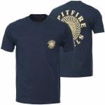Spitfire OG Classic Short Sleeve T Shirt-Navy-L