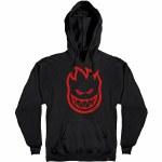 Spitfire Big Head Hoody-Black-M